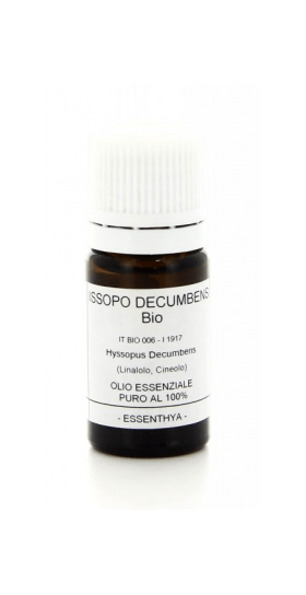 Olio Essenziale di Issopo Decumbens BIO Essenthya