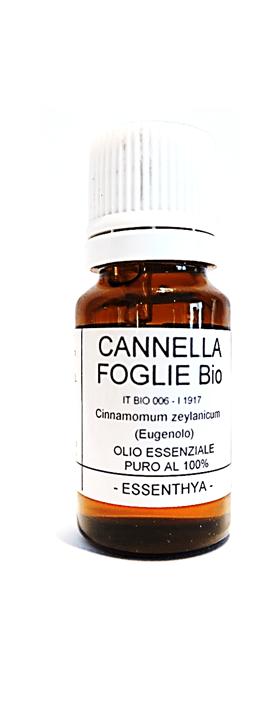 Olio Essenziale di Cannella (Foglie) BIO Essenthya